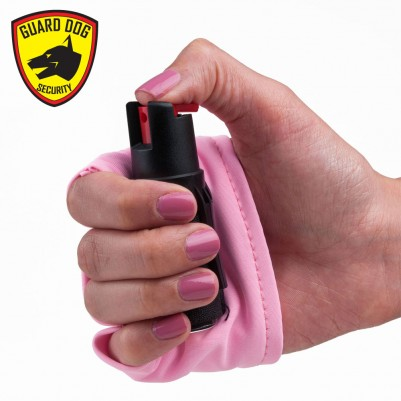 InstaFire Pink Personal Defense Pepper Spray 1/2 oz