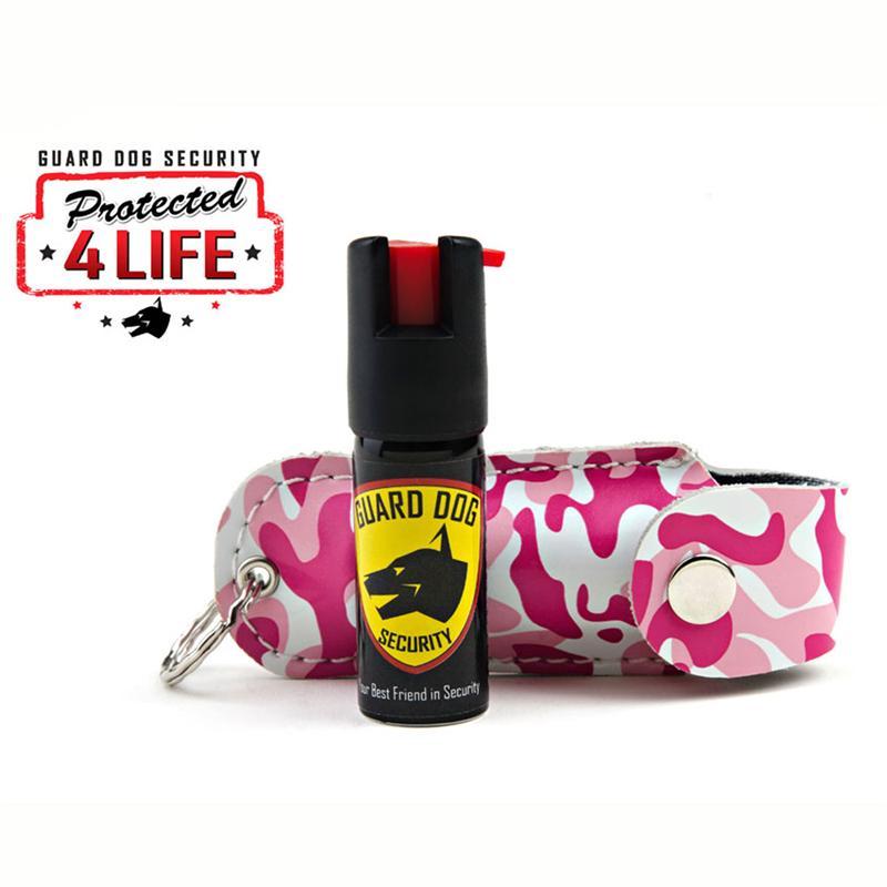 Pink Camo Personal Defense Pepper Spray OC-18