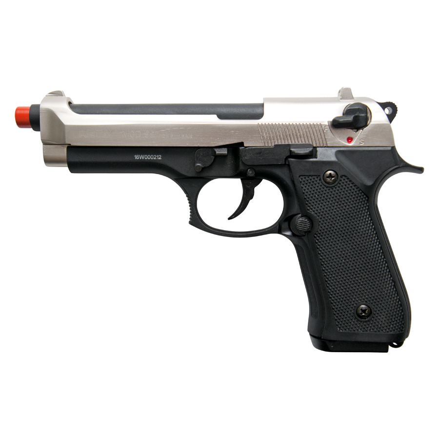 Retay 9MM MOD 92 Front Firing Blank Gun Two Tone Finish