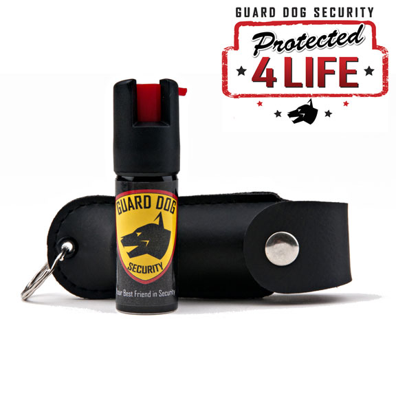 Black Personal Defense Pepper Spray OC-18