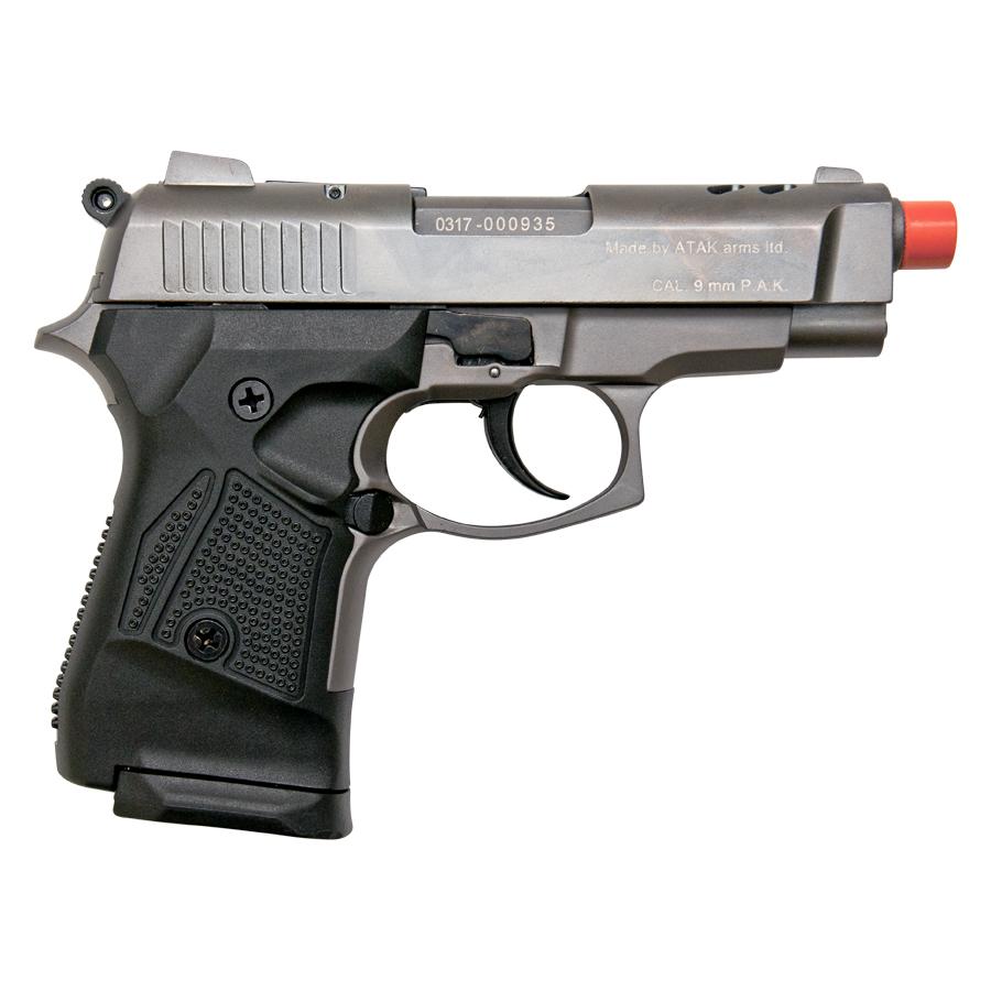 Zoraki M2914 Fume Finish 9mm Front Firing Blank Gun