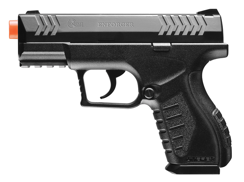 400 FPS Combat Zone Compact Carry CO2 Airsoft Semi-Auto Pistol