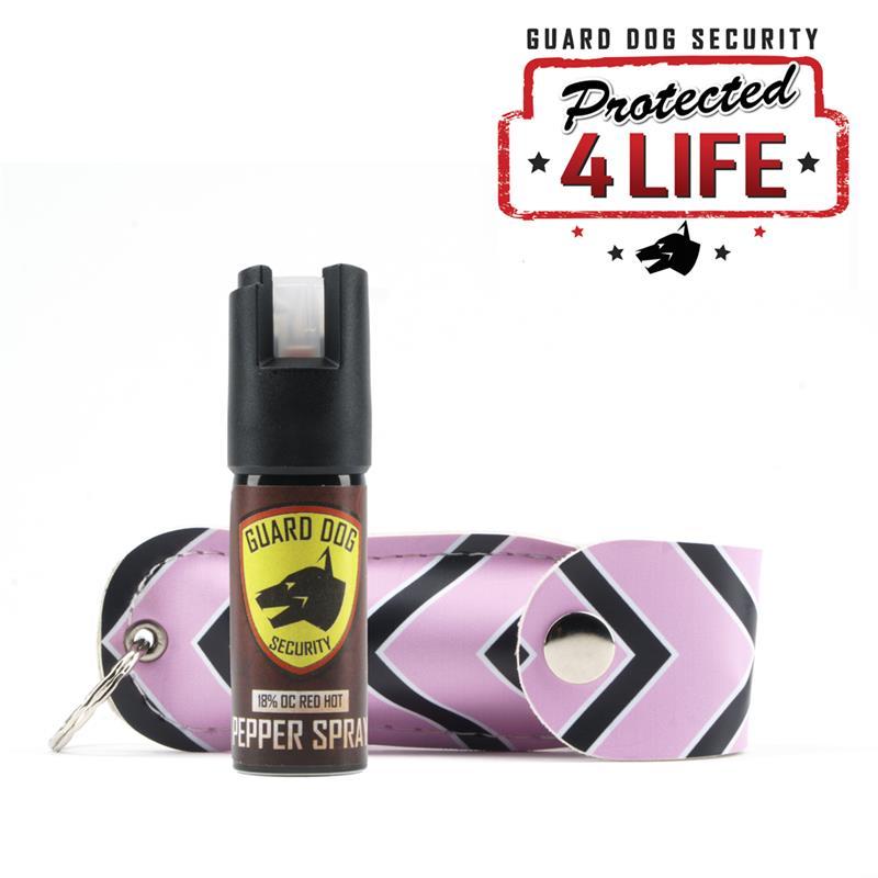 Pepper Spray OC-18 1/2 oz Fireista Pink