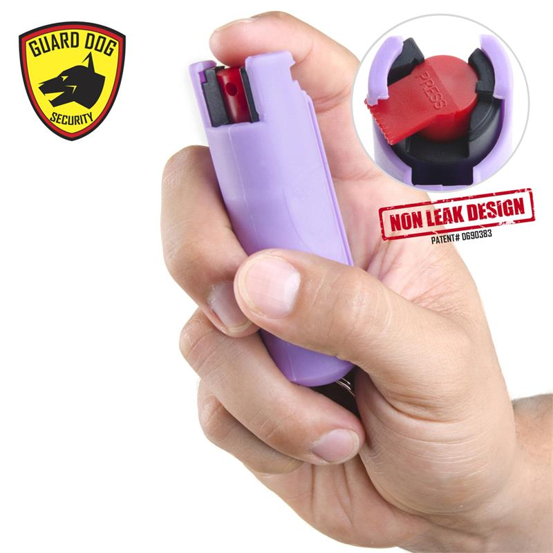 Lilac Hard Case Personal Defense Pepper Spray