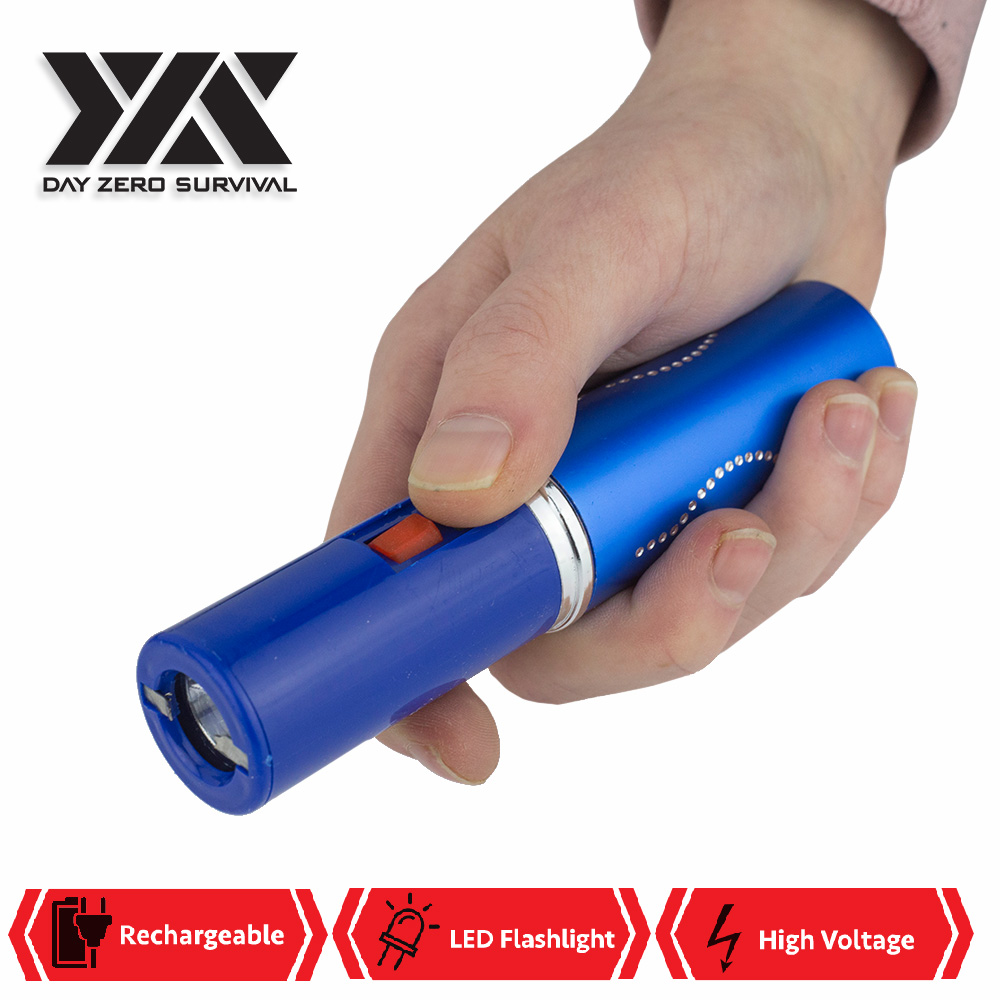 Lipstick 2.5 Million Volt Discrete Stun Gun With LED Light