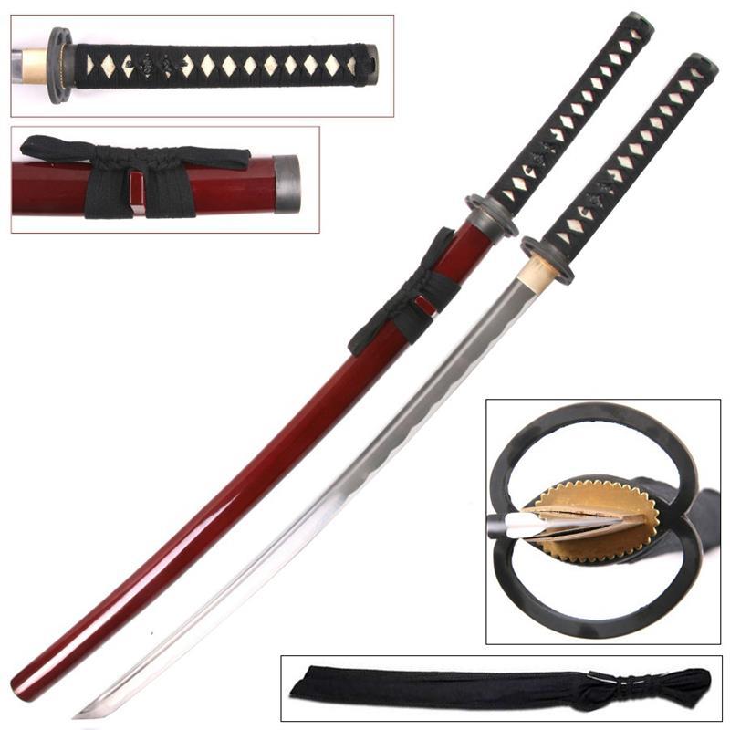 handmade samurai katana sword
