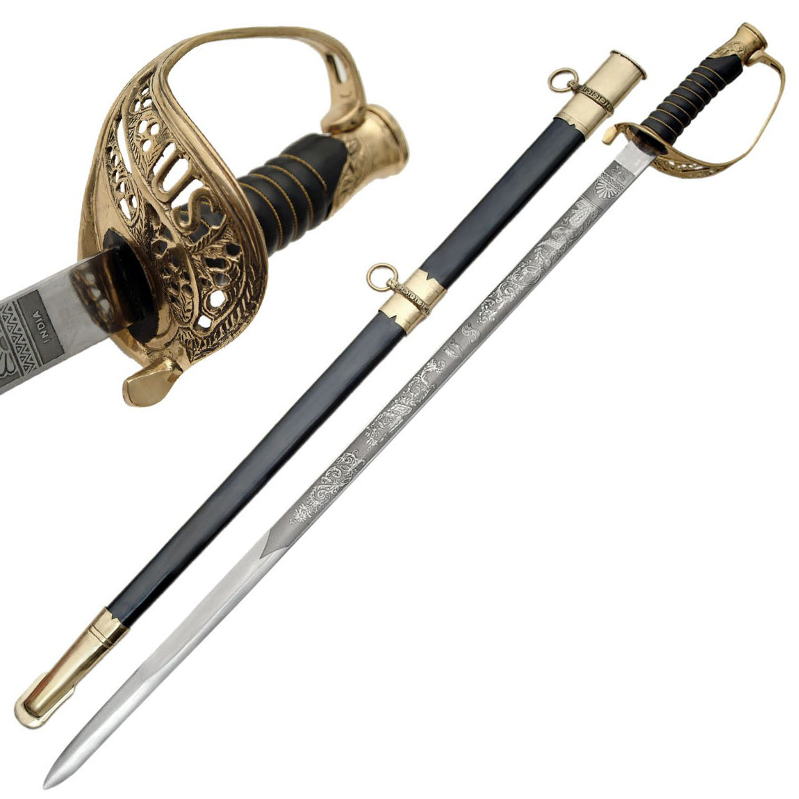 Cavalry Saber U S  Civil War Foot Officer's Sword