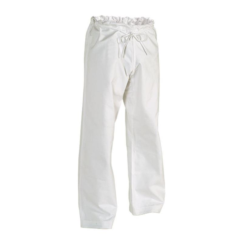 12 oz Heavy Weight Cotton Karate Pants White Size 3