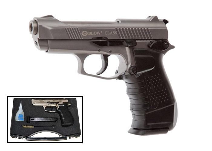 Blow Class Fume Finish Starter Pistol 9MM Blank Firing Gun