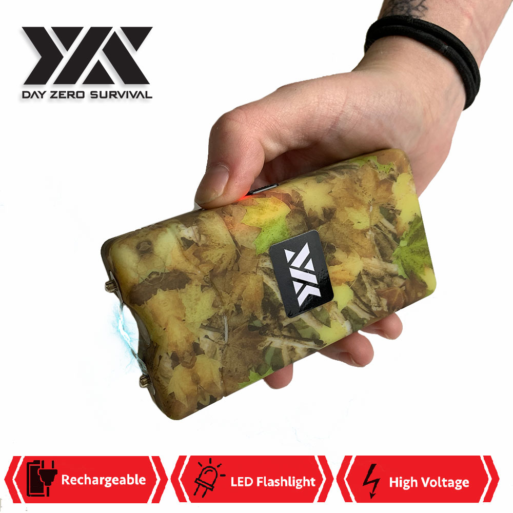 DZS 10 Million Volt Self Defense Fall Camo Stun Gun