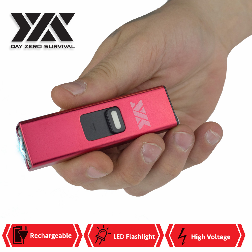 Micro USB Self Defense Red Stun Gun