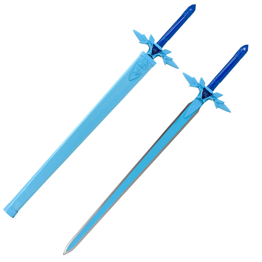 sao blue rose sword kirito anime replica