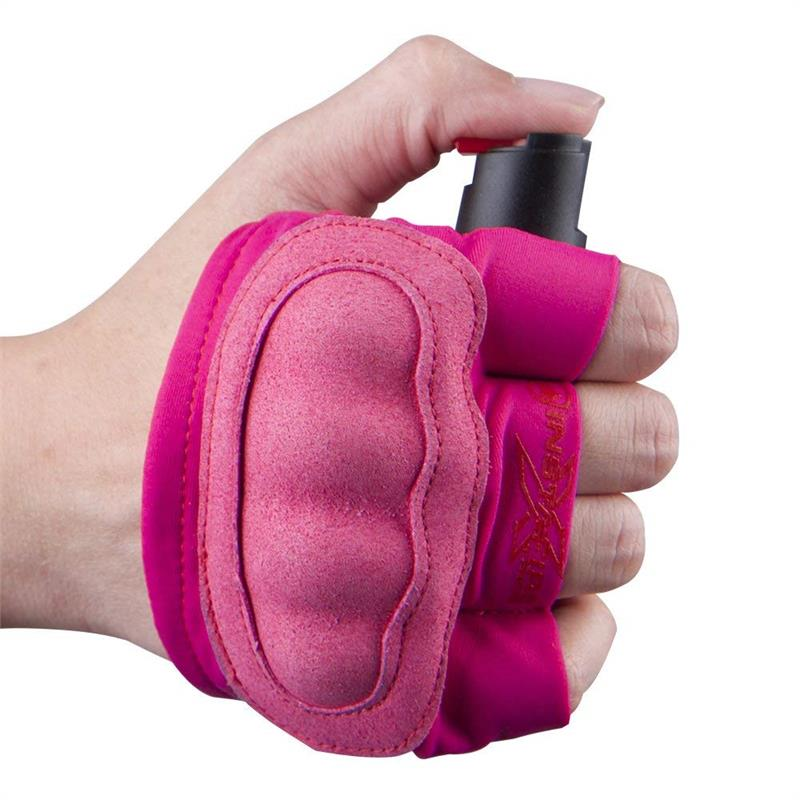 InstaFire Extreme Self Defense Pepper Spray With Knuckle Defense Pink
