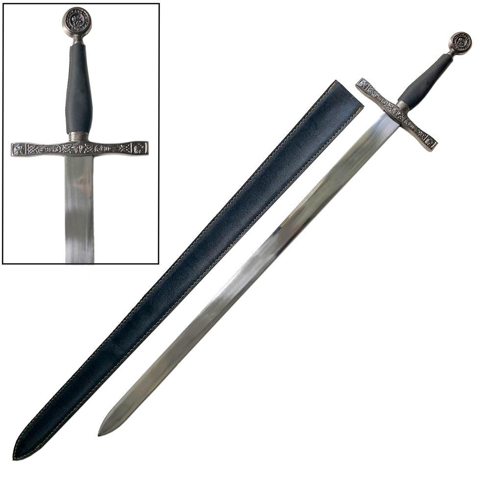 Excalibur SwordWith LEATHER Sheath