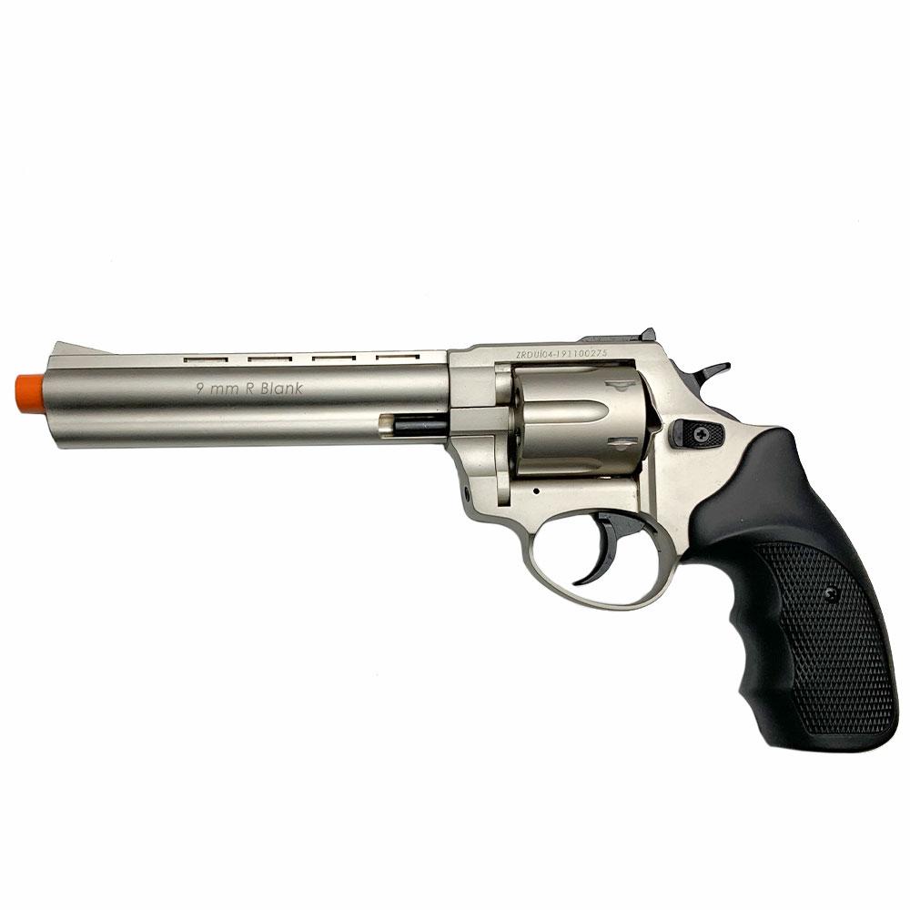 "Zoraki R1 6"" Barrel - Front Firing Blank Gun Revolver"