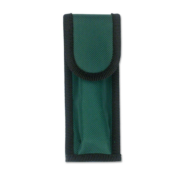 ''5.5'''' Green Nylon Pocket KNIFE Belt Loop Pouch Case 10 Pcs''