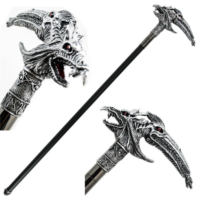 Dragon Fantasy Sword Gentleman S Cane With Removable Blade