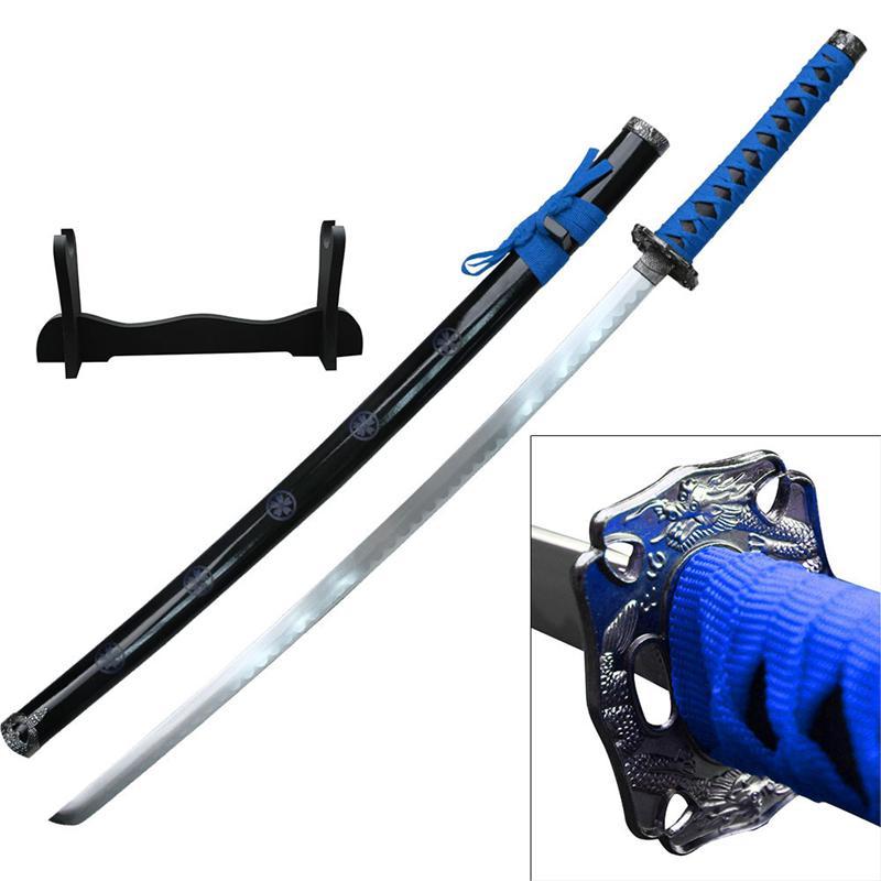dragon sakura samurai sword