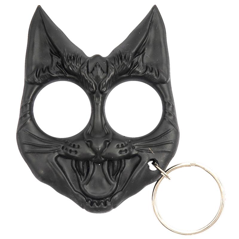 Wild Cat Self Defense Keychain Black