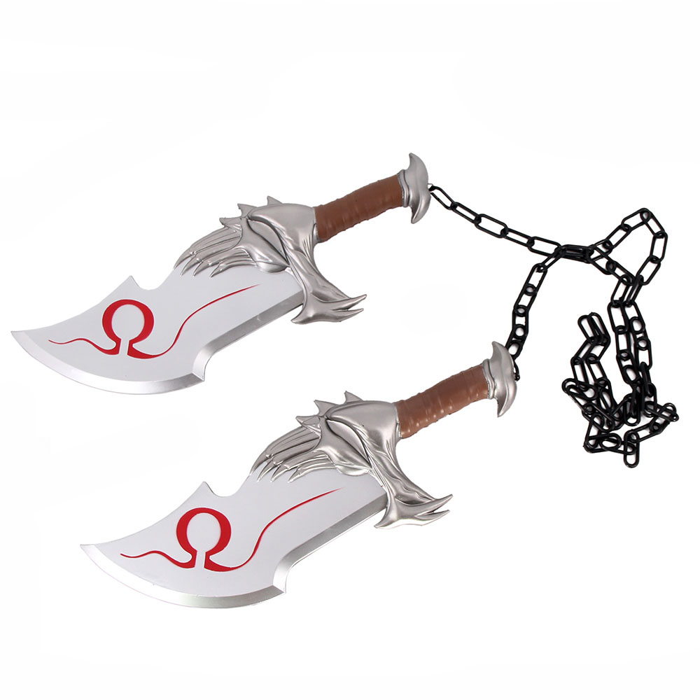 Blades of Chaos Kratos Foam Prop Replica Sword Set