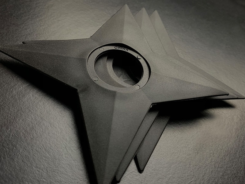 Cool origami Ninja Star | How to make a paper four-pointed ... | 600x800