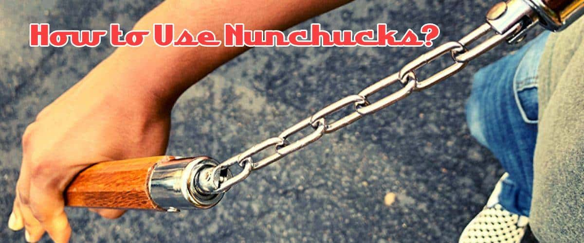 how to use nunchucks