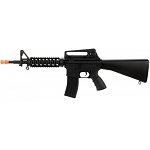 Well Airsoft M4 AEG Tactical RIS with Fixed Stock Carrying Handle