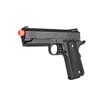 Full Metal 1911 Warrior Spring Airsoft Pistol Shoots 255 FPS