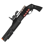 Airsoft M180B2 Sawed Off Shell-Fed Shotgun w/ Tactical Flashlight