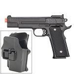 G20H Full Metal M945 Airsoft Spring Hand Gun with Quick Release Holster