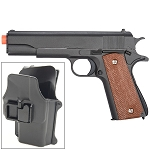 M1911 Replica Airsoft Spring Pistol Metal with Quick Release Holster