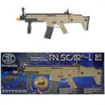 FN Herstal SCAR-L Tactical Spring Powered Airsoft Rifle - 400 FPS Dark Earth
