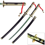 Owari no Seraph Anime Katana With Hamon Yu Hyakuya Replica Sword