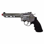 350 FPS HFC 357 Silver Magnum Green Gas Metal Airsoft Revolver Pistol
