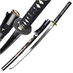 1045 Steel Samurai Sword Katana Sharp Edge Dragon Scabbard