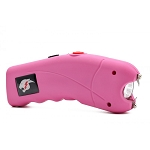 Pink Cyclone 2.5 Million Volt Rechargeable Stun Gun With Alarm