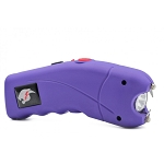 Purple Cyclone 2.5 Million Volt Rechargeable Stun Gun With Alarm