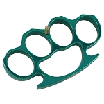 Green Heavy Duty Buckle Knuckles Paperweight Accessory
