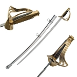 40 Inch Black Handle 1840 Cavalry Saber Trooper Sword