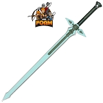 Kiritos Dark Repulser SAO Foam Sword Cosplay Costume LARP