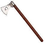 Bleeding Heart War Axe Hatchet Tomahawk 17 Inch Overall