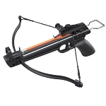 50 lbs Metal Aluminum Pistol Crossbow With 5 ABS Bolts