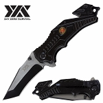 Military Rescue Day Zero Survival Spring Assisted Open Folding Pocket Knife
