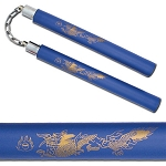 Foam Padded Dragon Nunchaku Karate