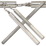 Chain Link Solid Steel Convertible Nunchaku & Night Stick