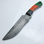 Hand Forged Damascus Steel Full Tang Hunting Knife 10