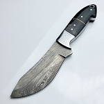 Damascus Steel Custom Hand Made Tactical Knife 9