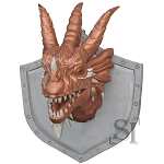Dungeons And Dragons Plaque - Hand Crafted With High Quality Wood