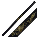 Foam Padded Training Escrima Stick 26-Inch Dragon Design