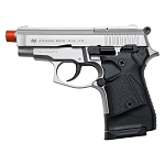 Zoraki Front Fire Satin M914 Full Auto 9mm Blank Gun Machine Pistol